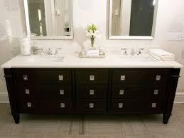 bathroom vanity black. (decorpad.com) Modern Black Bathroom Design With Vanity