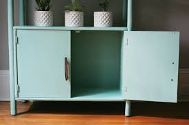 jo torrijos a simpler design atlanta painted furniture annie sloan mint green bookcase mid century 10