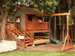 Cool Treehouses For Kids Extraordinary Wooden Playhouse 50 Classic Ideas For Your Pallet