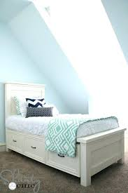 twin platform bed with drawers. Twin Platform Bed White Storage 6 Drawer Captains . With Drawers
