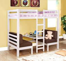 bunk bed with couch and desk over loft bed with couch and desk loft bed sofa