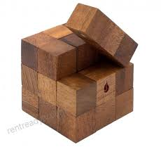 snake cube handmade organic 3d brain teaser wooden puzzle for s from siammandalay with sm