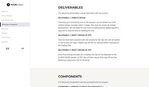 design statement of work free web design statement of work better proposals