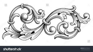 vintage frame tattoo designs. Vintage Baroque Victorian Frame Border Monogram Floral Ornament Leaf Scroll Engraved Retro Flower Pattern Decorative Design Tattoo Designs R