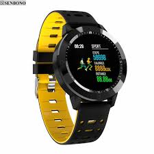 Sports SmartWatch with Color Touch Screen, IP67 Waterproof & Tempered glass  - Mr-Gadget.store - live comfy!