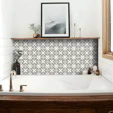 Kitchen And Bathroom Splashback Removable Vinyl Wallpaper Etsy