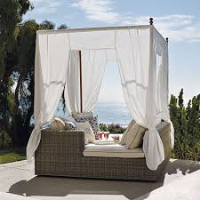 Cute Outdoor Daybed With Canopy Set On Kitchen Set Is Like Round Outdoor  Daybed With Canopy