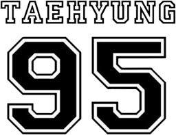 v taehyung logo log bts 95 bangtansonyeondan...