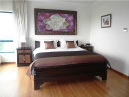 Modern Bedroom Curtain Bedroom Flower Painting White Bedroom Curtain Sidebed Storage