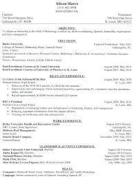 Different Resume Formats Inspiration Types Of Resume Format Sample Examples Different Resumes Famous