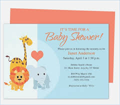 Invitation Template Word Gorgeous Baby Shower Invitation Template Word Aaiiworldorg