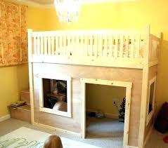 Kids Loft Bed Plans For Best Kid Beds Ideas On Diy Bunk Twin Over Queen