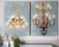 wall art ideas amazing chandelier vinyl jeweled gold two choices of awesome posters modern contemporary interior