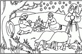 Small Picture Coloring Pages Bible Christmas Coloring Pages Coloring Home