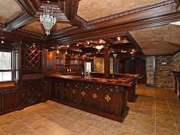 man cave bar. The Ultimate Man Cave With Stunning Bar, Wine Storage. Traditional-home-bar Bar