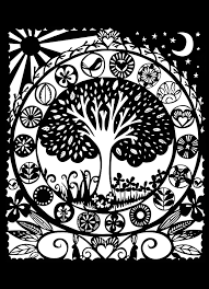 Small Picture Flowers and vegetation Coloring pages for adults coloring