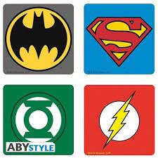 Купить «Подставки под напитки ABYstyle: DC COMICS: Emblem ...