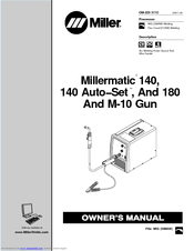 miller electric millermatic 180 manuals manuals and user guides for miller electric millermatic 180 we have 1 miller electric millermatic 180 manual available for pdf owner s