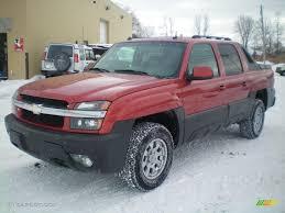 2003 Sunset Orange Metallic Chevrolet Avalanche North Face Edition ...