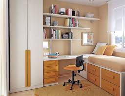 Cool Small Bedroom Learning Desk