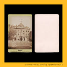 Mathias Weingartshofer In Mödling Circa 1880 Posthof Spar