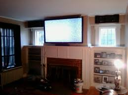 cheshire ct mount tv above fireplace home theater installation