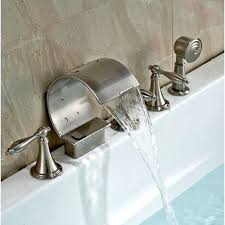bathtub faucet with hand shower deck mount bathtub faucet with handheld shower head bathtub faucet hand bathtub faucet