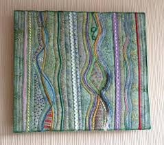 fabric art wall hanging project large fabric wall art cotton within fabric art wall hangings