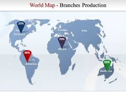 Map Of The World For Powerpoint Free World Map Animation Powerpoint Template Interactive World Map
