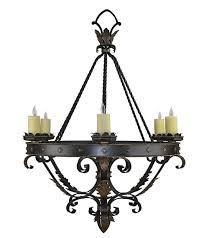 custom wrought iron lights hand forged