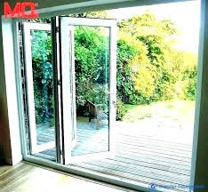 folding glass door moving wall systems 3 panel pocket patio doors canada s south africa exterior