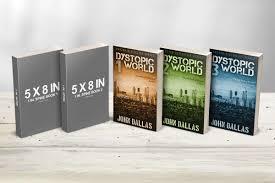 5 x 8 multi paperback book presentation mockup covervault
