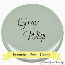 Grey green paint color Light Benjamin Moore Gray Wisp Favorite Paint Color Officalcharts Benjamin Moore Gray Wisp Favorite Paint Color Postcards From The