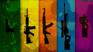 counter strike guns hd wallpaper 1920x1080