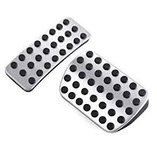2pcs Stainless Steel NO Drill Car Fuel Brake Foot ... - Amazon.com