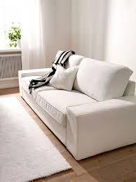 ikea kivik 3 seater sofa cover white