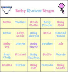 Extraordinary Free Printable Baby Shower Gift Bingo 48 For Your Baby Shower Bingo Cards Printable