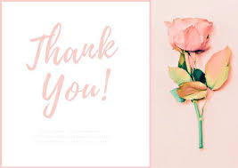 Personalized Sympathy Thank You Cards Personalized Sympathy Acknowledgement Cards Light Pink Rose Funeral