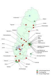 Slu Chart Ny Map Over All Slu Locations In Sweden Externwebben