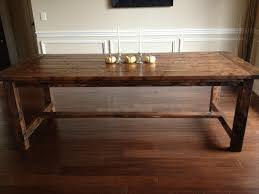 Build Dining Room Table Diy Rustic Dining Table Decoration Home - Diy rustic dining room table