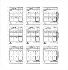 Volleyball Roster Lineup Template Image Result For Blank Sheets