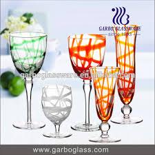 goblet style wine glasses. Contemporary Wine Elegant Western Style Goblet Wine Glasses Antique Colored Glass Stemware On Goblet Wine Glasses O