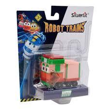 Машинка Robot Trains (<b>Silverlit</b>) <b>Паровозик Вито, в</b> блистере ...