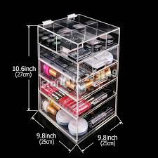 awesome large makeup organizer with drawers 84 for modern house
