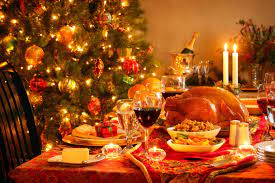 Christmas Dinner Wallpapers - Top Free ...