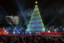 Dc White House Christmas Tree Lighting Decking The National Christmas Tree With Codes Of Jolly