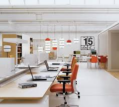 modern open plan interior office space. beautiful modern clean office open office space with pops of color intended modern open plan interior office space