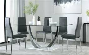 white table top ikea. Grey Table Glass And Chrome Dining White Gloss Base With 6  Chairs Top Ikea White Table Top Ikea