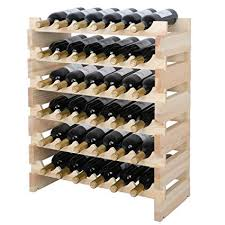 Small wine racks Stackable Wine Smartxchoices 36 Bottle Stackable Modular Wine Rack Small Wine Storage Rack Free Standing Solid Natural Wood Amazoncom Amazoncom Smartxchoices 36 Bottle Stackable Modular Wine Rack