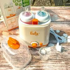Máy hâm sữa tiệt trùng đôi Fatz FB3012Sl - Trọn gói sơ sinh - Milu Kids